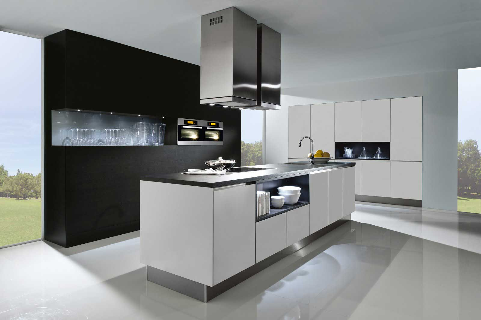 German Fitted Kitchens, Dublin, Monaghan - Handleless, Nobilia