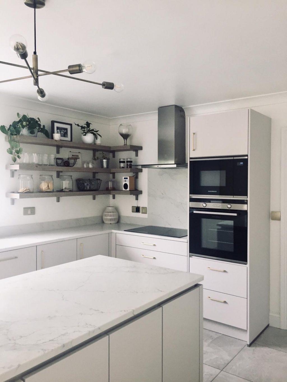 Modern White Kitchen - Bespoke Design, German Kitchen